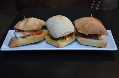 small slider hamburgers