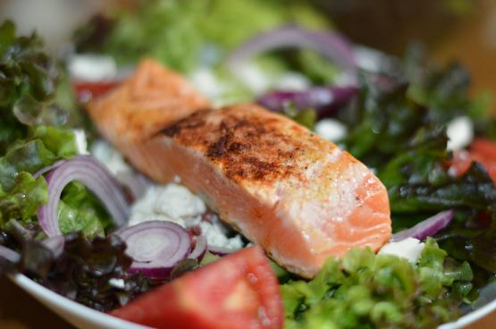 salmon salad dinner for diabetics